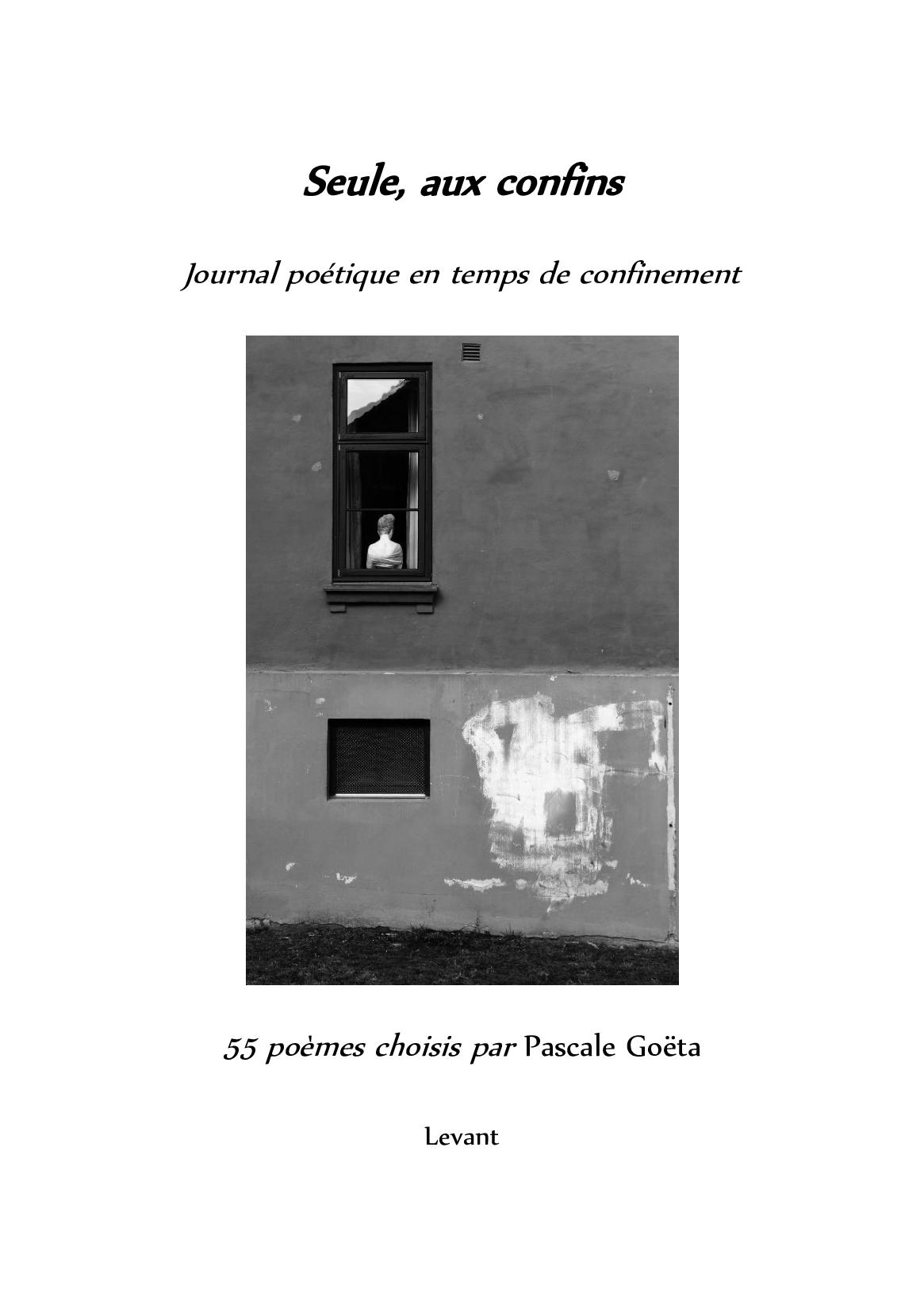 Recueil de poèmes de Pascale Goëta